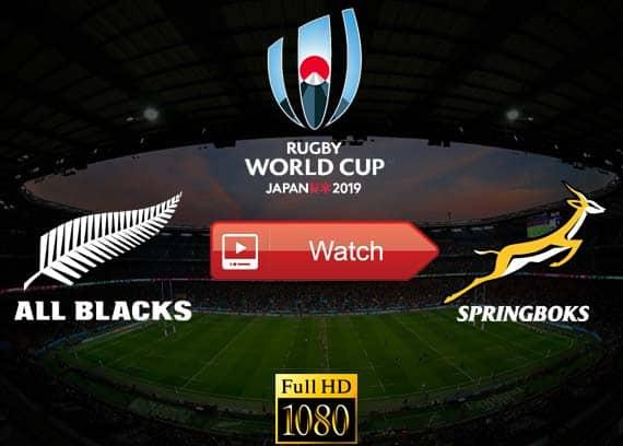 All Blacks vs Springboks live stream reddit
