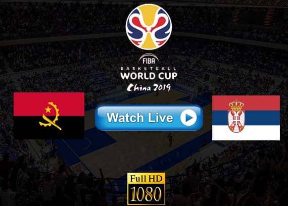 Angola vs Serbia live streaming reddit