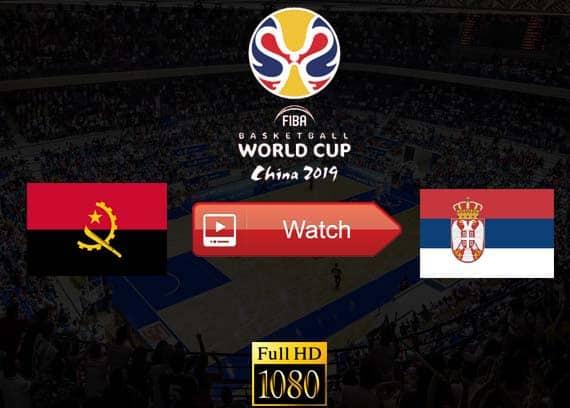 Angola vs Serbia live stream reddit