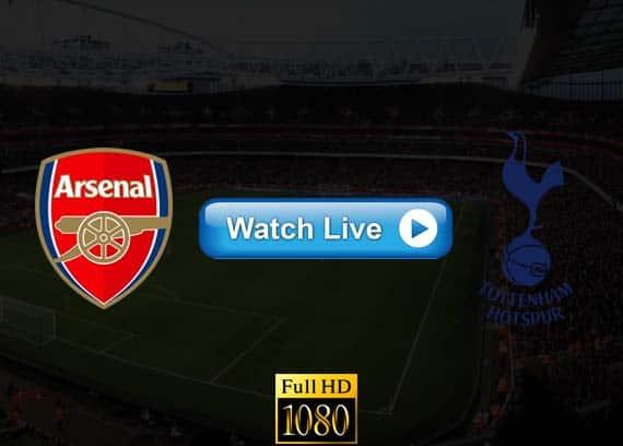 Arsenal vs Tottenham live streaming reddit