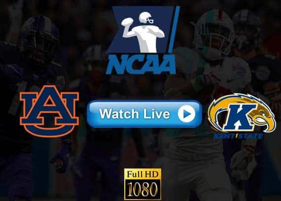 Auburn vs Kent State live streaming reddit