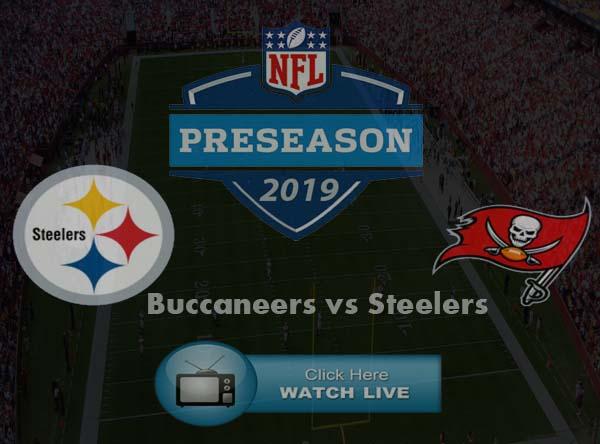 Tampa Bay Buccaneers vs Pittsburgh Steelers Live Stream