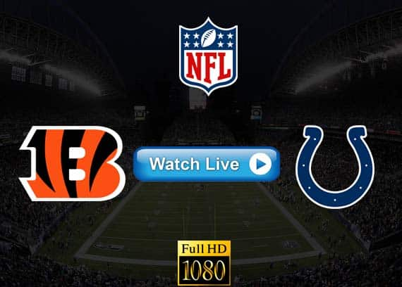 Bengals vs Colts live streaming reddit