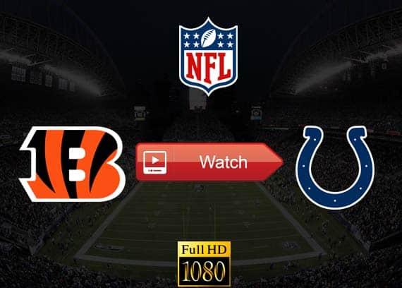 Bengals vs Colts live stream reddit