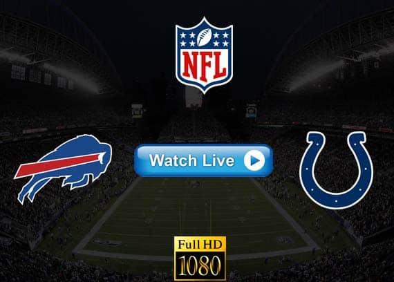Bills vs Colts live streaming reddit