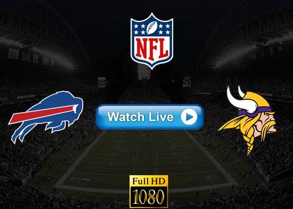 Bills vs Vikings live streaming reddit