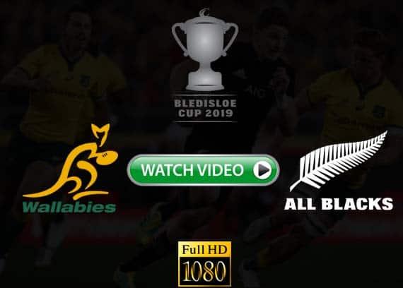 2019 Bledisloe Cup Wallabies vs All Blacks live stream reddit