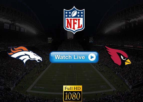 Broncos vs Cardinals live streaming reddit