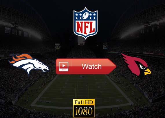 Broncos vs Cardinals live stream reddit