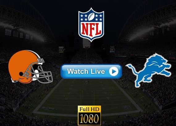 Browns vs Lions live streaming reddit