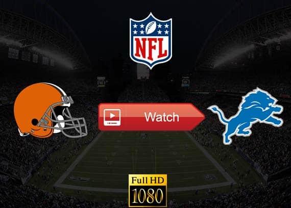 Browns vs Lions live stream reddit