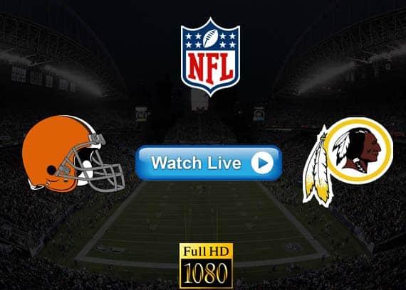 Browns vs Redskins live streaming reddit