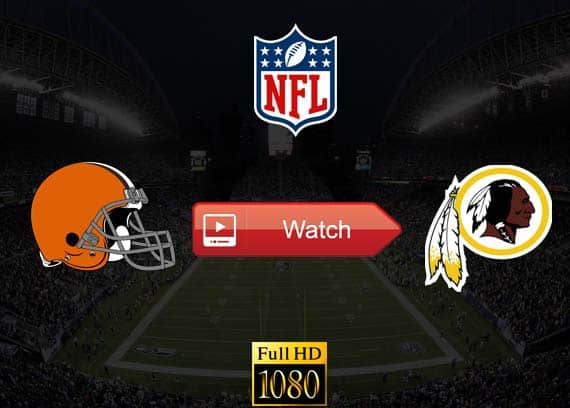 Browns vs Redskins live stream reddit