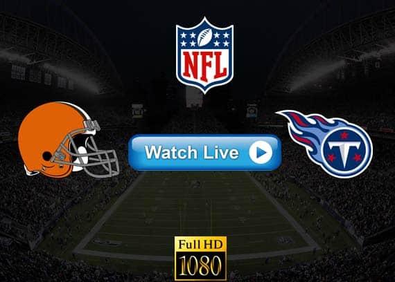 Browns vs Titans live streaming reddit