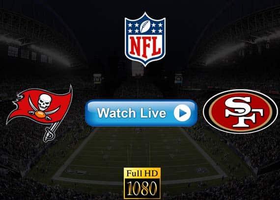 Buccaneers vs 49ers live streaming reddit