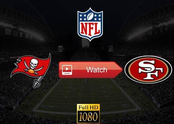 Buccaneers vs 49ers live stream reddit