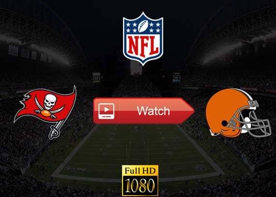 Buccaneers vs Browns live streaming reddit