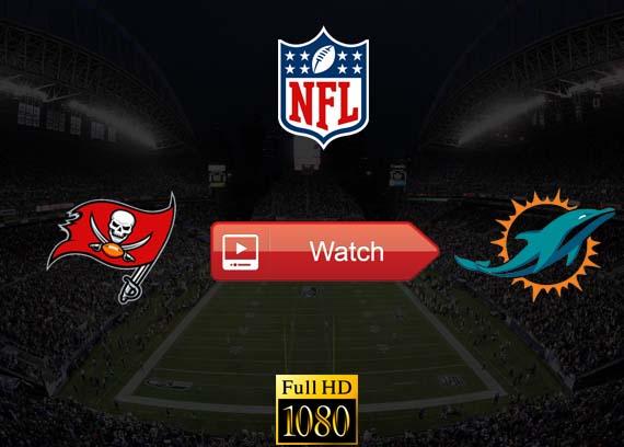 Buccaneers vs Dolphins live stream reddit