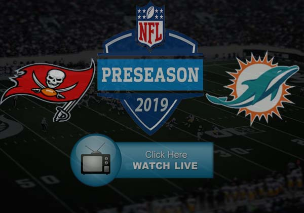 Miami Dolphins vs Tampa Bay Buccaneers Live Stream