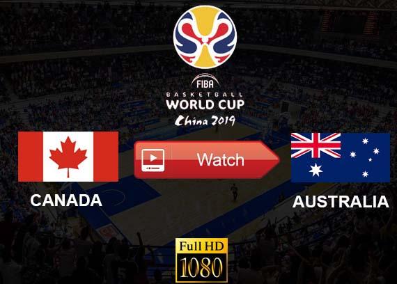Canada vs Australia live stream reddit