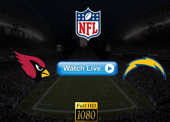 Cardinals vs Chargers live streaming reddit