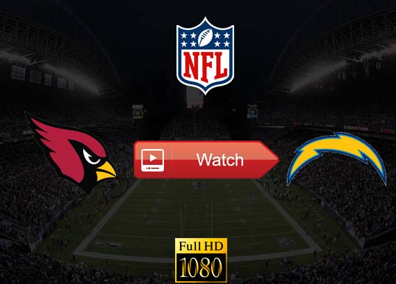 Cardinals vs Chargers live stream reddit
