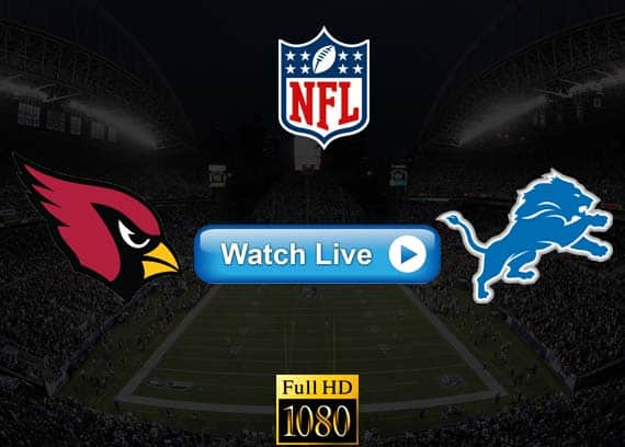 Cardinals vs Lions live streaming reddit