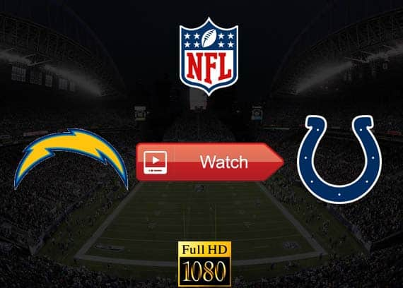 Chargers vs Colts live stream reddit