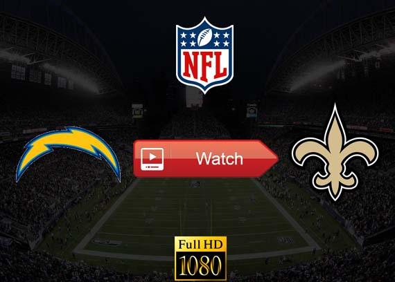 Chargers vs Saints live stream reddit