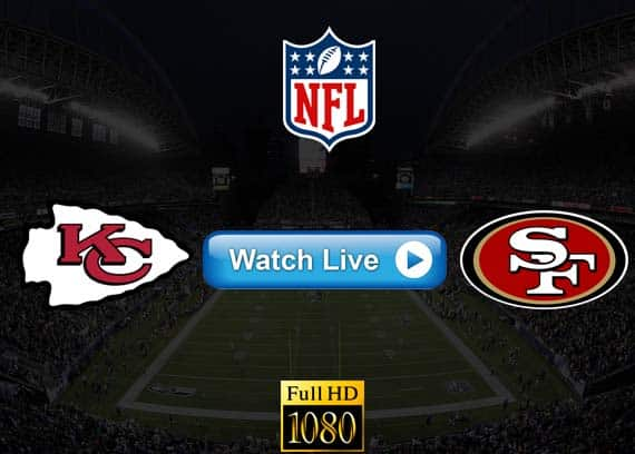 Chiefs vs 49ers live streaming reddit