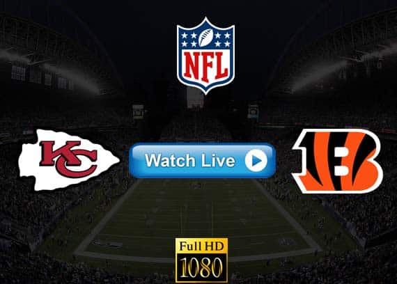 Chiefs vs Bengals live streaming reddit