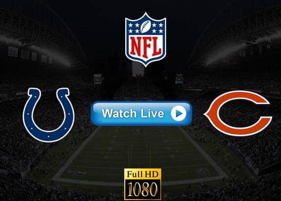 Colts vs Bears live streaming reddit