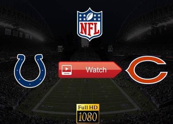 Colts vs Bears live stream reddit