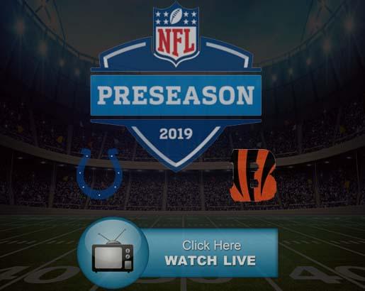 Cincinnati Bengals Indianapolis Colts Live Stream