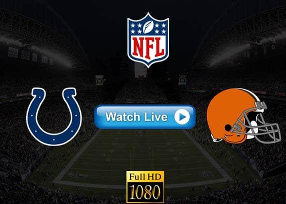 Colts vs Browns live streaming reddit