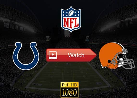Colts vs Browns live stream reddit