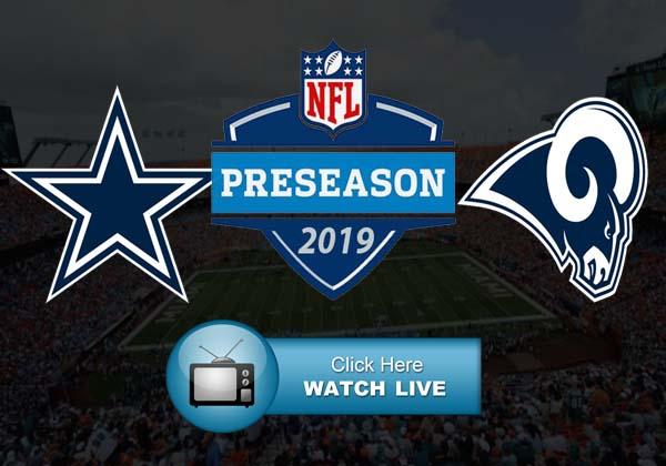 Dallas Cowboys vs Los Angeles Rams Live Stream