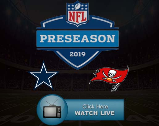 Cowboys vs Bucs Live Stream