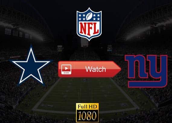 Cowboys vs Giants live stream reddit