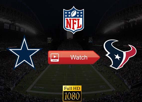 Cowboys vs Texans live stream reddit