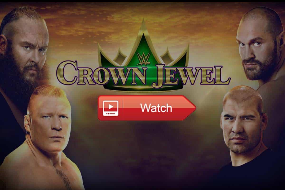 Crown Jewel live stream reddit