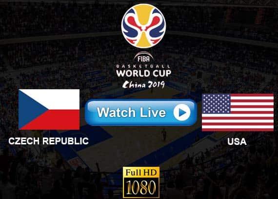 USA vs Czech Republic live streaming reddit