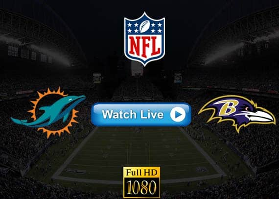 Dolphins vs Ravens live streaming reddit