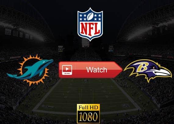 Dolphins vs Ravens live stream reddit