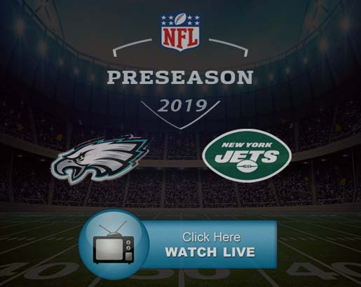 Eagles vs Jets Live Stream Onine