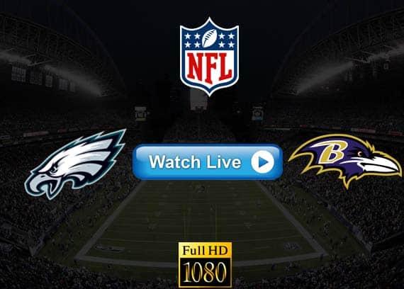 Eagles vs Ravens live streaming reddit