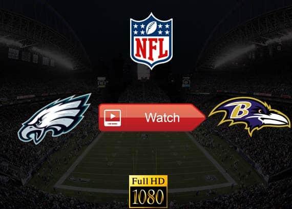 Eagles vs Ravens live stream reddit