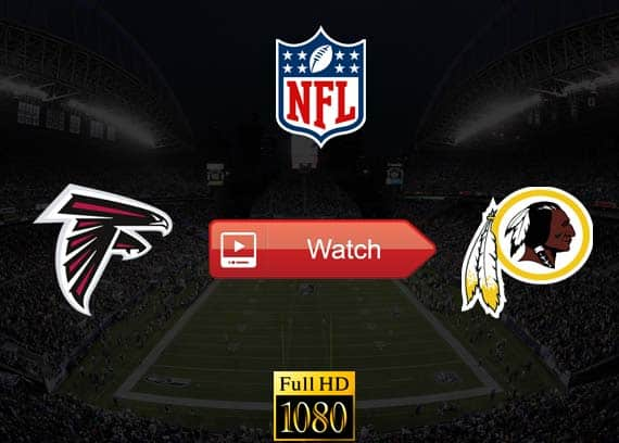 Falcons vs Redskins live stream reddit