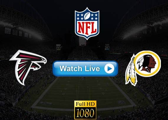 Falcons vs Redskins live streaming reddit