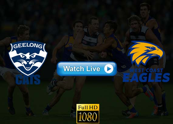 Geelong Cats vs West Coast Eagles live streaming reddit